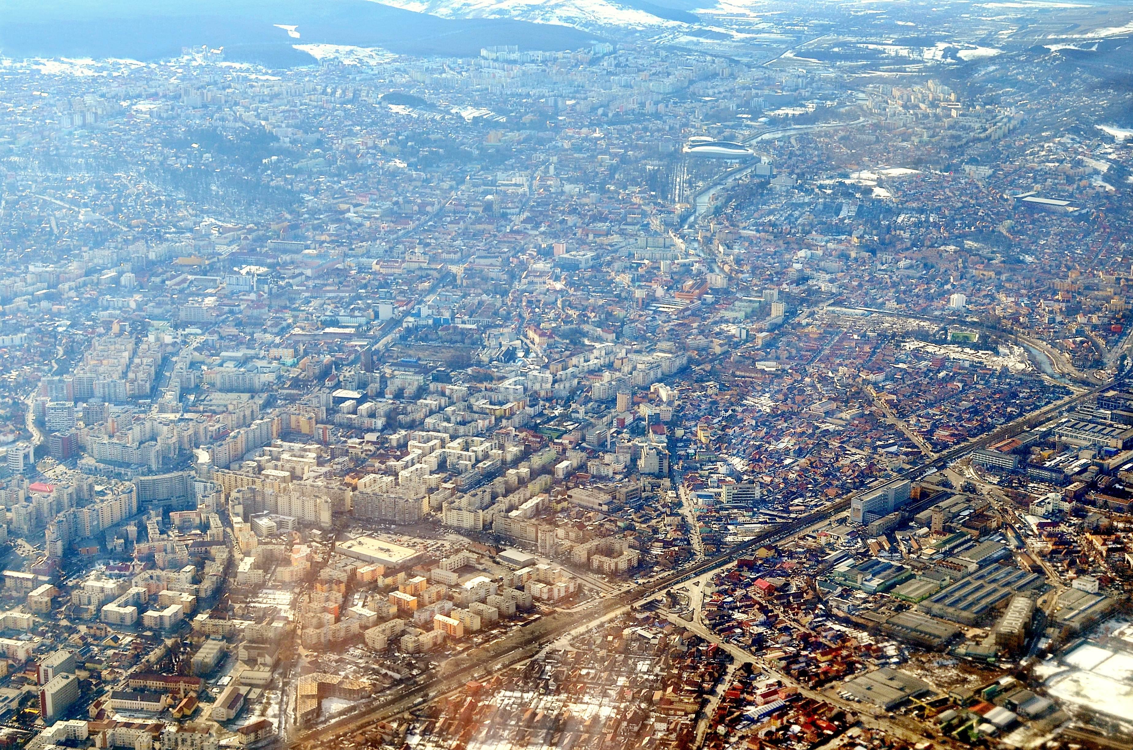 Descriere fotografie: Cluj-Napoca: oras european